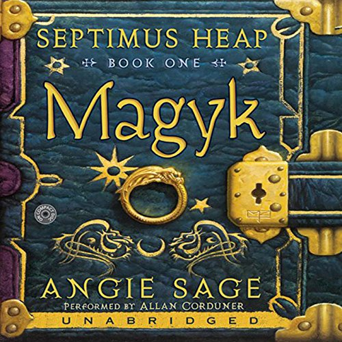 Magyk audiobook cover art
