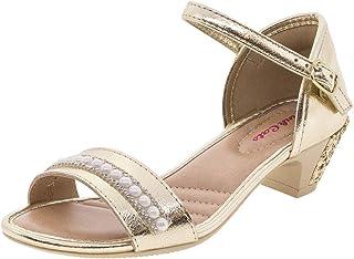 Sandália Infantil Feminina Pink Cats - W9303a Ouro