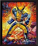 Uhomate Superhelden-Wanddekoration, Vincent Van Gogh,