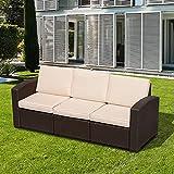Zoom IMG-2 outsunny divano a 3 posti