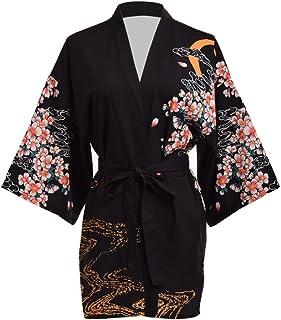 myKimono Traje de kimono japon/és tradicional de mujer Yukata Ropa interior de una pieza hadajuban