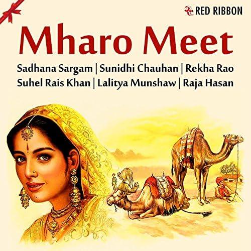 Suhel Rais Khan, Raja Hasan, Sunidhi Chauhan, Lalitya Munshaw, Rekha Rao & Sadhana Sargam