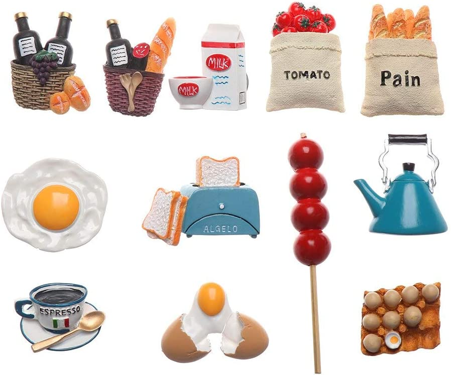 Fridge Magnets 12pc Creative Decor Japan's largest assortment Accesso We OFFer at cheap prices Ornament Refrigerator