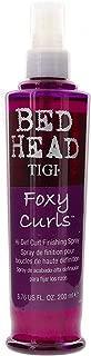 TIGI Bed Head Foxy Curls Hi-Def Curl Spray - Adds Bounce & Shine, Moisturizes & Softens Hair, Fights Frizz, Defines Curls, 6.76 oz (Pack of 1)