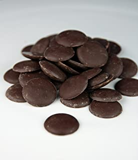 Dark Brown Cocoa/Cacao Butter Chocolate Wafers Unrefined Organic Food Grade by H&B OILS CENTER Raw Fresh Pure Natural 32 oz, 2 LB