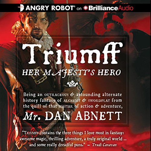 Triumff: Her Majesty's Hero audiobook cover art