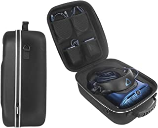 JRY HTC VIVE Cosmos 用ケース,HTC Cosmos 保護箱 キャリングケース を保護します及び付属品 の収納 (ブラック)
