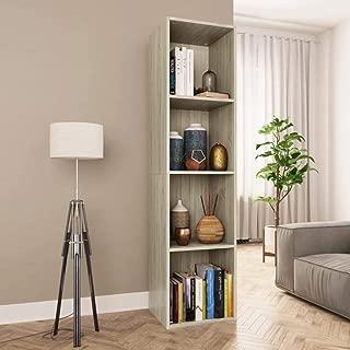 vidaXL Book Cabinet/TV Cabinet Sonoma Oak 14.2