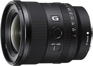 ソニー SONY 単焦点レンズ FE 20mm F1.8 G Eマウント35mmフルサイズ対応 SEL20F18G ブラック