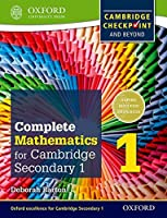 Complete Mathematics for Cambridge Secondary 1 Student Book 1: For Cambridge Checkpoint and beyond by Deborah Barton(2014-11-01)