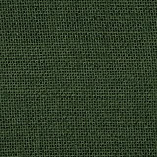 James Thompson 60in Sultana Burlap Hunter Green Fabric By The Yard