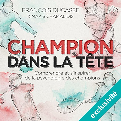 Champion dans la tête audiobook cover art