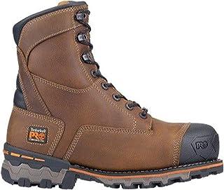 """Timberland PRO Men's Boondock 8"""" Composite Toe Waterproof Insulated Industrial Boot"""