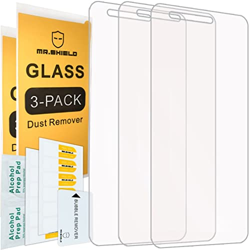 [3-PACK]-Mr Shield For LG Fortune [Tempered Glass] Screen