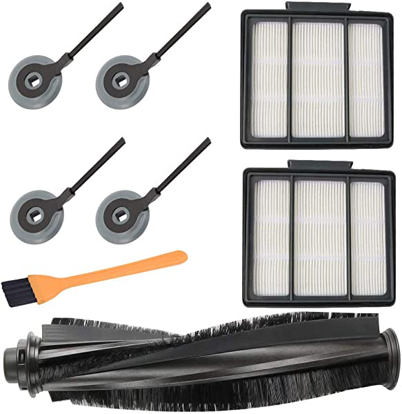 Lomsarsh Brush Filters Side Brushes Accessories For Shark ION Robot S87 R85 RV850 RV850BR Sweeping Robot Shark Ion Robot S87 R85 RV850 Accessories
