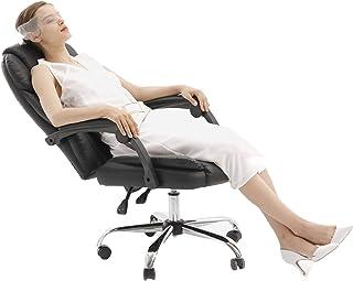 LYJBD Sillas de Escritorio con Ruedas Silla de Escritorio para computadora de Oficina Oficina en casa Respaldo Alto Respaldo ergonómico Asiento Ejecutivo con Soporte Lumbar Altura Ajustable