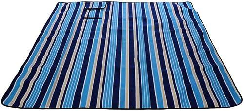 XXXSDD Tapis de Camping Pliable en Plein air Barbecue Pique-Nique Couverture Couverture imperméable Tapis de Plage Libre de Sable