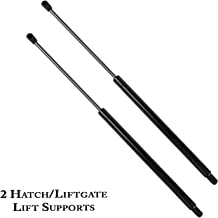 2 Pcs Rear Liftgate Lift Supports Struts Gas Springs Shocks for 2007-2013 GMC Acadia,2007-2010 Saturn Outlook 6152 SG330083 024904