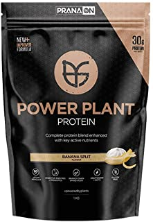 Prana ON Power Plant Protein, Banana Split, 1 kilograms