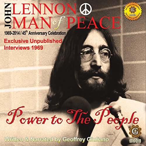 John Lennon Man of Peace, Part 1: Power to the People audiobook cover art