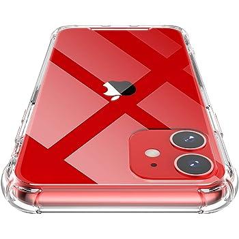 Shamo's Funda para iPhone 11, Transparente Carcasa Protección a Bordes y Cámara con Absorción de Choque Cojín de Esquina Parachoques con PC Duro Panel Posterior y Marco Reforzado de TPU Suave
