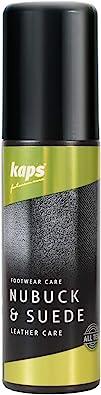 Kaps Nubuck Suede Care, Produit d'Entretien pour le Nubuck et le Daim avec Éponge d'Application, 7 Couleurs