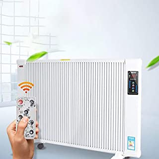 LITING Electric Heater Carbon Fiber Household Energy-Saving Panel Heater Far Infrared Heating Wall Heating (Remote Remote Control, 24H Timing)