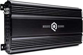 SoundQubed Q4-150 4 x 150W RMS 4-Channel Full Range Class AB Car Audio Amplifier with Remote Gain Control
