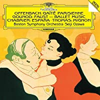 Offenbach Gounod Chabrier Thomas by Seiji Ozawa