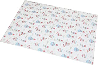 Emmzoe Disposable Sanitary Diaper Changing Table Mat Pads - Germ Protection, Soft, Leakproof - Amusement Park (18