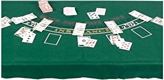 Blackjack Party Table Cover, 6'