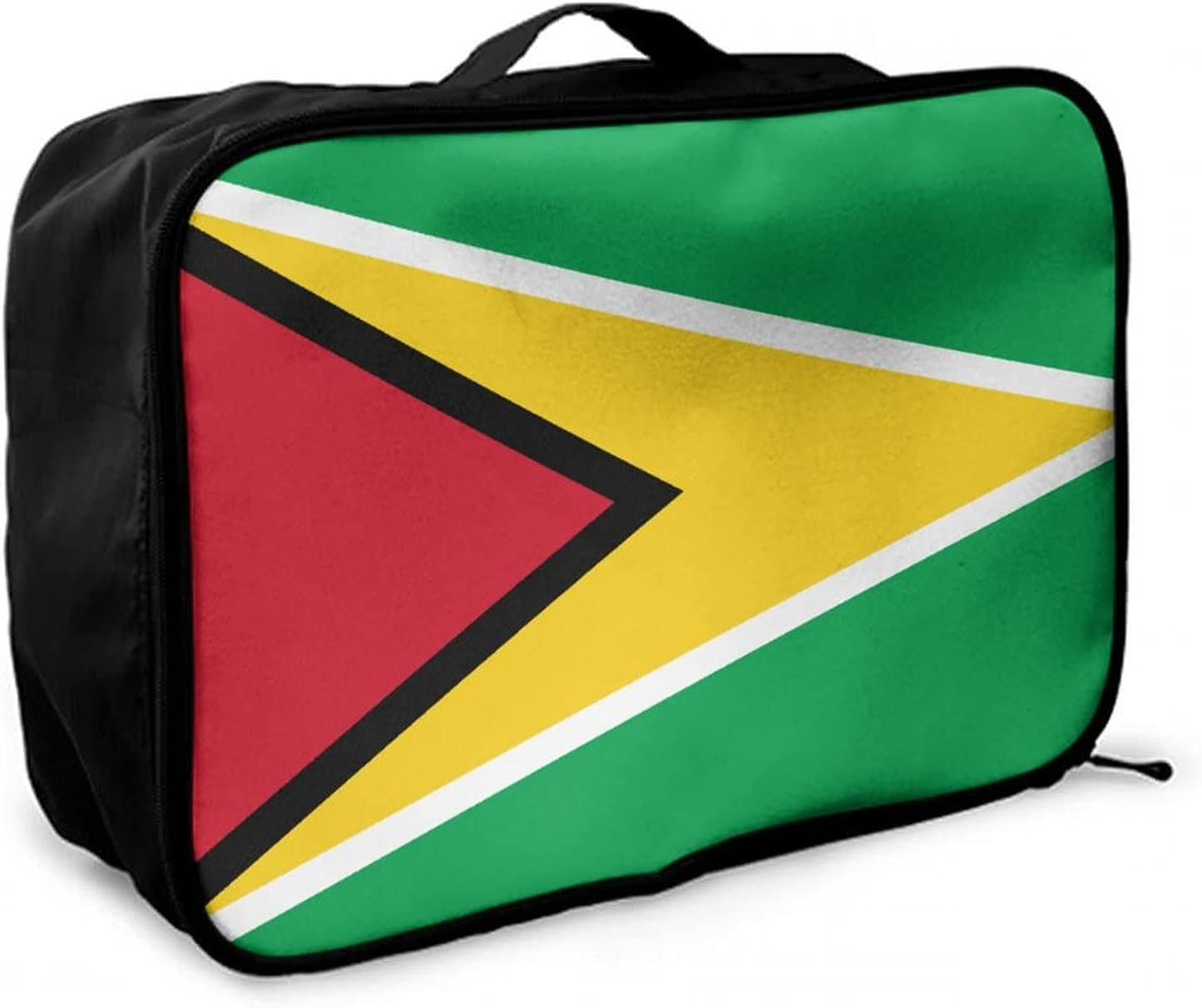 NiYoung Guyana Flags of Countries Travel Portland Mall Duffle Denver Mall Large Bag Lightw