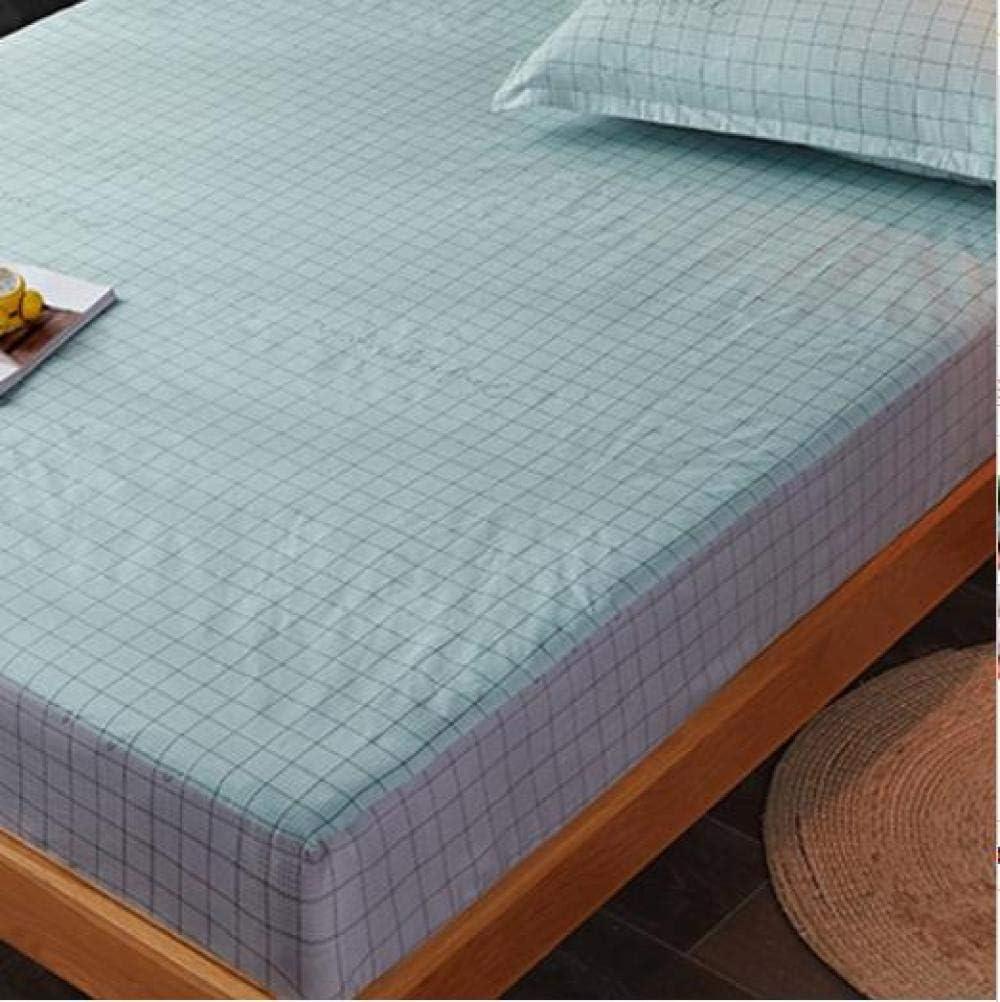 Qianqingkun Couvre-Matelas imperméable, Coton, Couvre-Matelas Simple, 150 * 200 cm-A3 A3