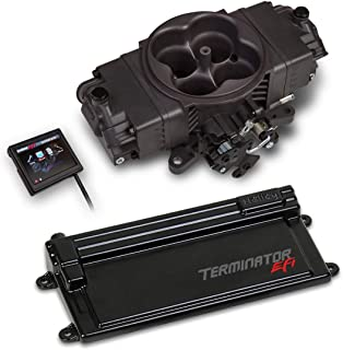 NEW HOLLEY TERMINATOR STEALTH EFI KIT WITH GM TRANSMISSION CONTROL,4 BBL THROTTLE BODY FUEL INJECTION SYSTEM,HARD CORE GRAY,950 CFM,COMPATIBLE WITH V8 250-600 HP ENGINES
