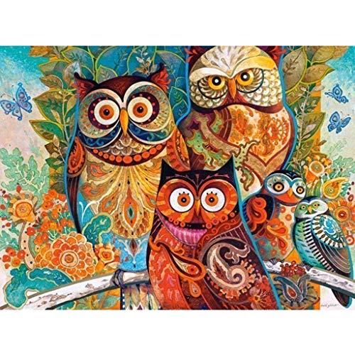 Assoluto Búho Rompecabezas de 2000 Piezas en Caja Pintura Fotografía Juguetes Arte del Juego, Adultos y niños El estrés relevista Puzzle 427