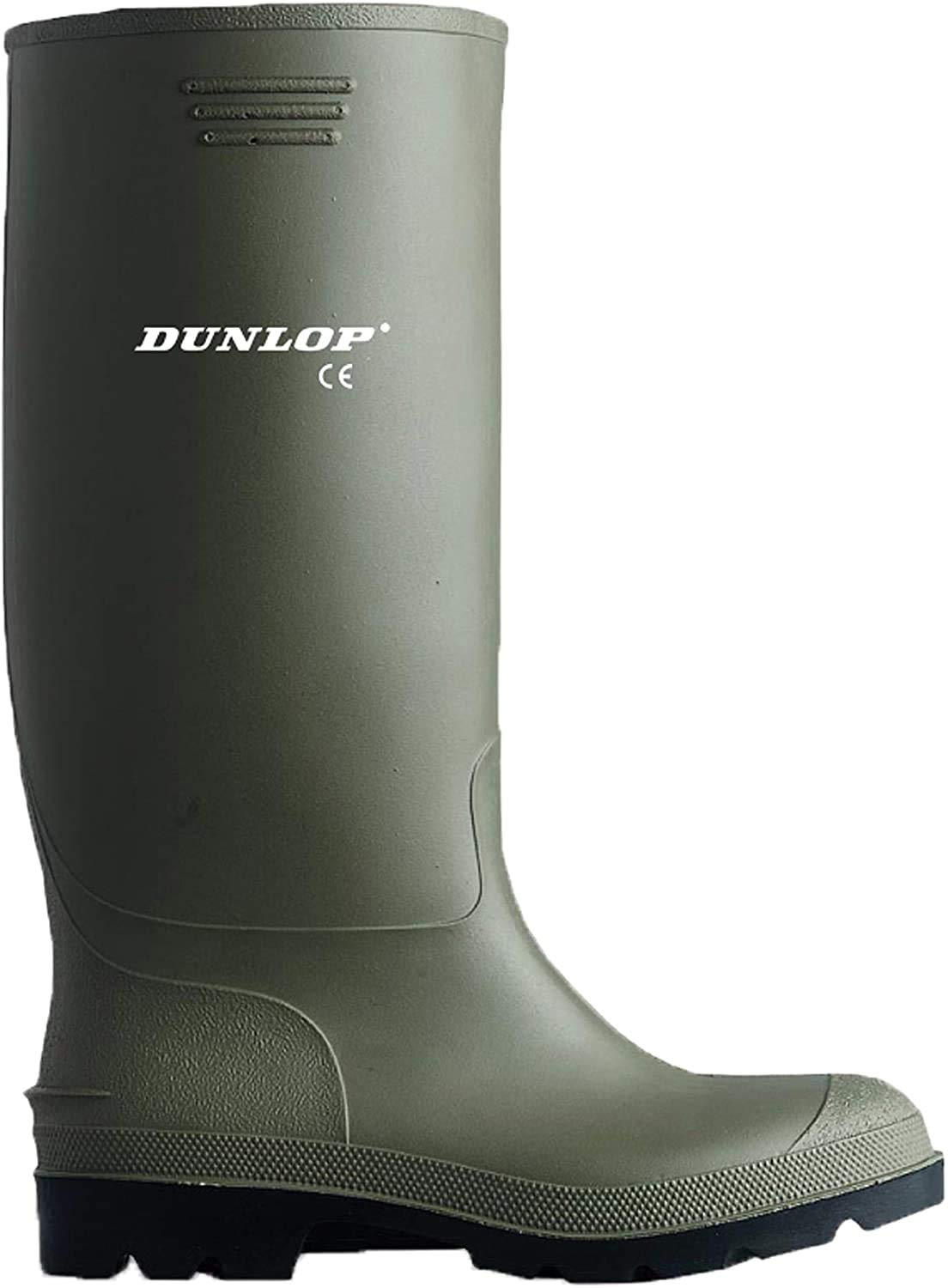 Dunlop Pricemastor famous PVC Welly Mens All items free shipping Wellington Boots US 10 Gree