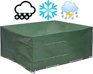 Glorytec Funda Muebles Jardin 250x210x90 - Funda Mesa Jardin de Agua, Protege contra el Viento y Las Condiciones climáticas