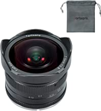 7artisans 7.5mm F2.8 APS-C Manual Fixed Lens for M4/3 Mount Cameras Panasonic G1 G2 G3 G4 G5 G6 G7 GF1 GF2 GF3 GF5 GF6 GM1 Olympus EMP1 EPM2 E-PL1 E-PL2 E-PL3 E-PL5