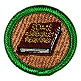Some Assembly Required Novelty Merit Badge- 1.5' Embroidered Patch with Adhesive Backing