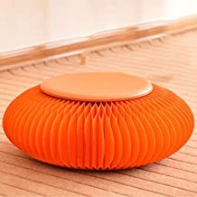 Creative Paper Futon Ottoman Footstool Folding Chair Fashion Chair Creative Stool Small Etro Futon Folding Kraft Paper Sto...