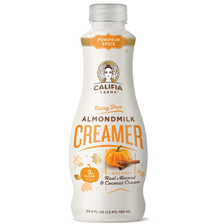 Califia Farms - Pumpkin Spice Almond Milk with Coffee lowest price Creamer Co Albuquerque Mall