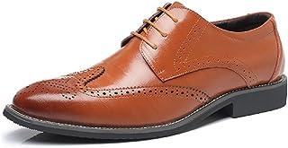 [NEOKER] ビジネスシューズ メンズ レザーシューズ 紳士靴 革靴 本革 ウイングチップ 通気性 空気循環 消臭 衝撃吸収 幅広 軽量 蒸れない レスアップタイプ 男性用