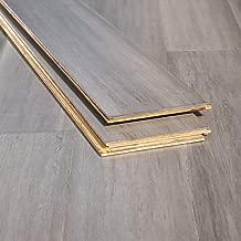 Ambient Bamboo - Bamboo Flooring Sample, Color: Ashwood Distressed, Engineered Click Lock