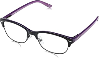 Foster Grant Women's Cleo 1017868-100.COM Round Reading Glasses