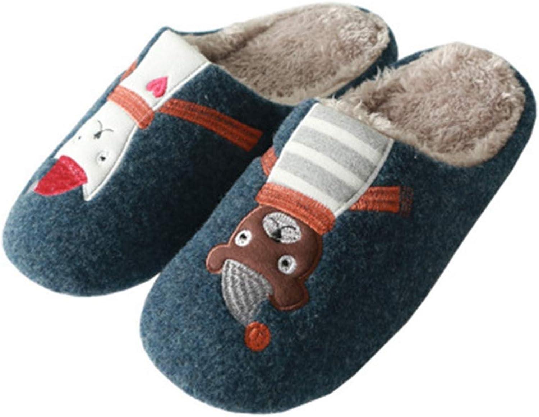 ASO-SLING Womens Classic Splitz Applique Slipper Socks Plush Fleece Lined House Slipper Socks Indoor shoes