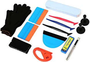 Wallpaper Smoothing Tool Kit, Multi-function 15 Pcs Tools Set for Wallpaper, Vehicle Vinyl Wrap Window Tint Tools Kit for Car Wrapping