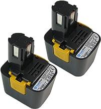 2x Trade-Shop Premium Ni-MH akumulator, 7,2V / 3300mAh / 24Wh zastępuje Panasonic EZ660 EZ662 EY9065 EY9066 EY9066B EY9166...