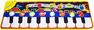 KAREZONINE Piano Mat, Kids Keyboard Mat Playmat Education To