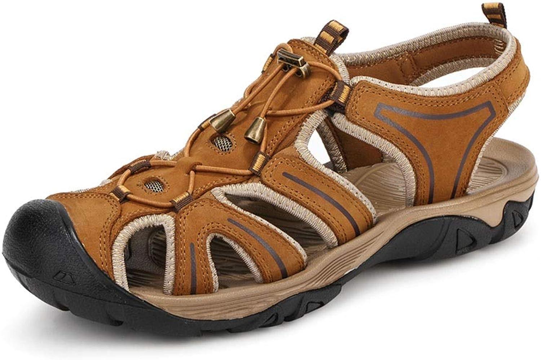Sandals HAIZHEN, Summer, Men's Casual shoes, Breathable Hole shoes Size 38-44
