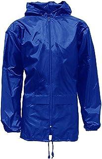 RainyDays Kids Boys Girls Kagool Coat School Cagoule Shower Water Proof Hooded RAIN Coat